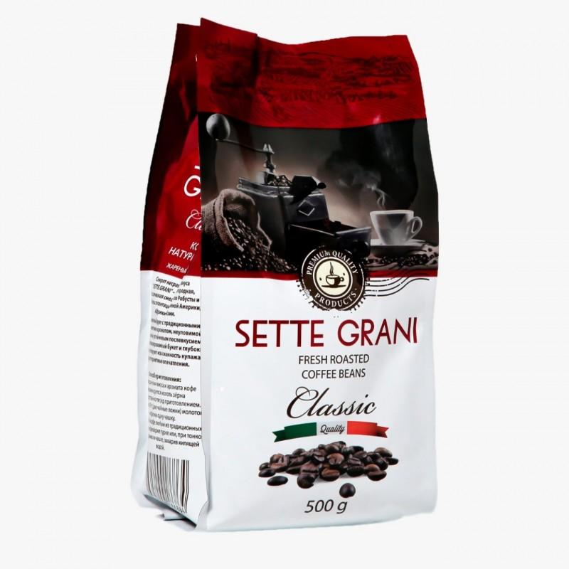 Кофе Зерновой Sette Grani 500 гр.