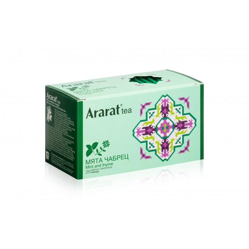 """Чай """" Мята и Чабрец """"Ararat"""", 25 Пак"""
