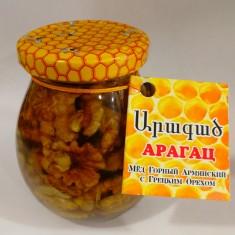Мёд Горный Армянский с Грецким Орехом 320 гр.