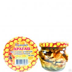 Мёд Горный Армянский с Грецким Орехом 180 гр.